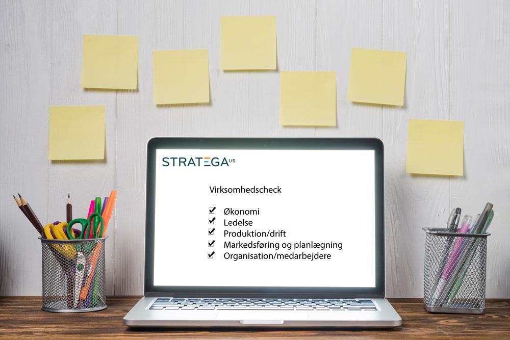 Analyse og rådgivning af din virksomhed